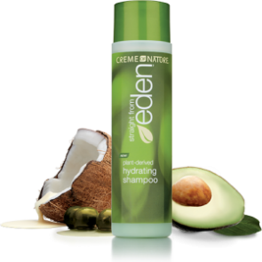 Creme of Nature Straight from Eden Plant Derived Hydrating Shampoo